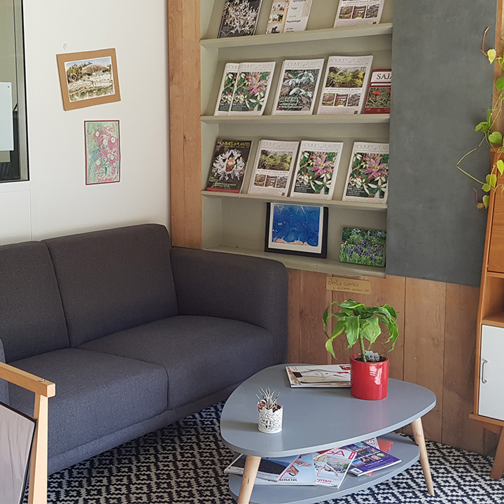 Espace City'zen Paris espace lecture