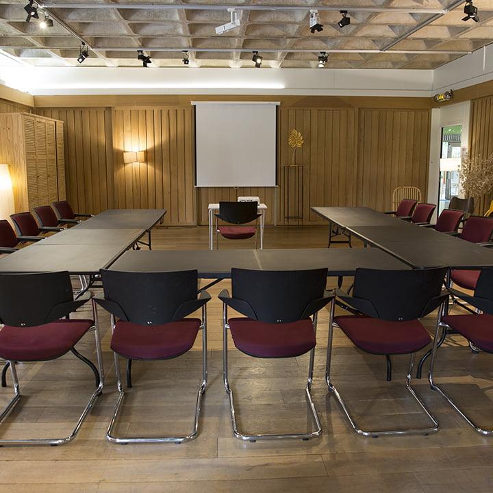 Espace City'zen Paris offre entreprise b2b location de salles séminaires nature à Paris salle de réunion