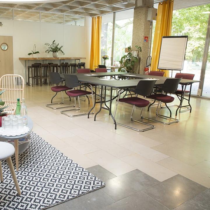 Espace City'zen Paris offre entreprise b2b location de salles séminaires fléxibles nature à Paris
