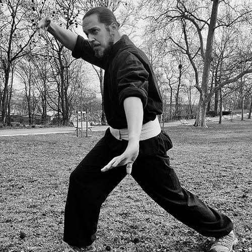 Florian Verdun Professeur de Kung Fu Espace City'zen Paris