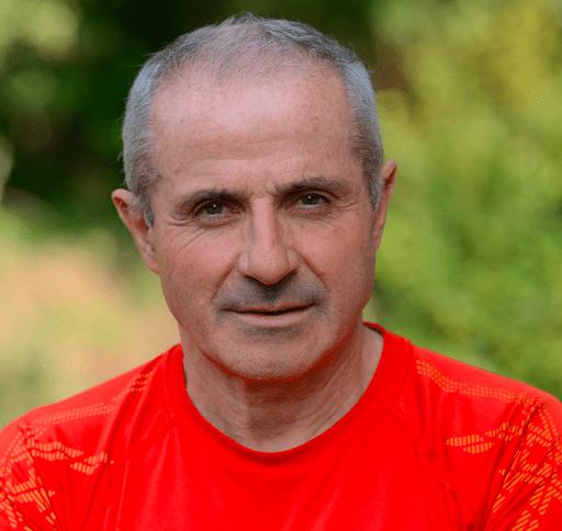 Claude Leroy, professeur de marche nordique à l'Espace City'zen Paris