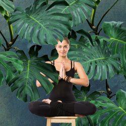 Cours de yoga sur chaise à l'Espace City'zen Paris